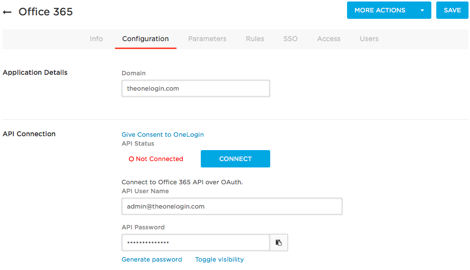 Provisioning users to office 365 v1 onelogin help center for Window 365 login
