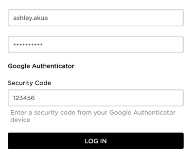 Google Authenticator immediate