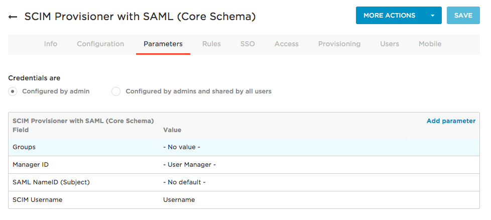 Step 3  Create a SCIM Test App - OneLogin Developers